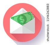 salary in envelope. salary...   Shutterstock .eps vector #1146262883