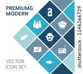 modern  simple vector icon set... | Shutterstock .eps vector #1146266729
