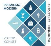 modern  simple vector icon set... | Shutterstock .eps vector #1146272843