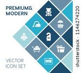 modern  simple vector icon set... | Shutterstock .eps vector #1146274220