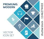 modern  simple vector icon set... | Shutterstock .eps vector #1146274433