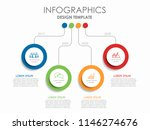 infographic design template... | Shutterstock .eps vector #1146274676