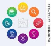 modern  simple vector icon set... | Shutterstock .eps vector #1146274853