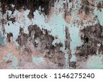traces of time left on the wall.... | Shutterstock . vector #1146275240