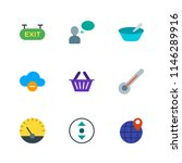 modern simple vector icon set.... | Shutterstock .eps vector #1146289916