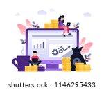 vector creative illustration of ... | Shutterstock .eps vector #1146295433