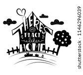 hand drawn lettering in shape... | Shutterstock .eps vector #1146296039
