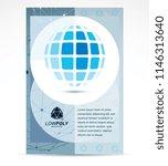 web technologies company... | Shutterstock .eps vector #1146313640