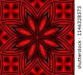 3d effect   abstract red... | Shutterstock . vector #1146328373