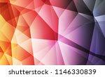 light pink  yellow vector...   Shutterstock .eps vector #1146330839
