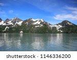 view from alaska glacier cruise | Shutterstock . vector #1146336200