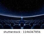 a breathtaking star projection...   Shutterstock . vector #1146367856