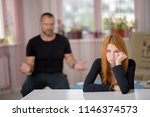 family difficulties ...   Shutterstock . vector #1146374573