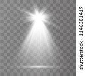 light sources  concert lighting ... | Shutterstock .eps vector #1146381419