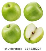 Green Apple Collection. Set Of...