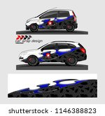 car livery graphic vector.... | Shutterstock .eps vector #1146388823
