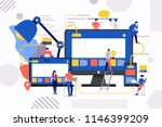 illustrations design concpt... | Shutterstock .eps vector #1146399209