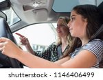 teenager having driving lesson... | Shutterstock . vector #1146406499