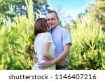 beautiful couple in love... | Shutterstock . vector #1146407216