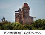 berwartstein castle burg... | Shutterstock . vector #1146407900