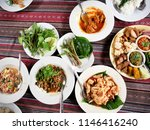 tradition northern thai food.... | Shutterstock . vector #1146416240