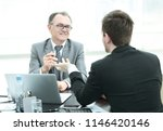 close up.business people...   Shutterstock . vector #1146420146