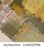 contemporary art. hand made art.... | Shutterstock . vector #1146425996