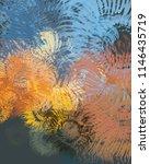 contemporary art. hand made art.... | Shutterstock . vector #1146435719