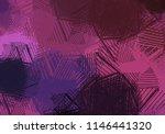 contemporary art. hand made art.... | Shutterstock . vector #1146441320