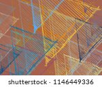 contemporary art. hand made art.... | Shutterstock . vector #1146449336