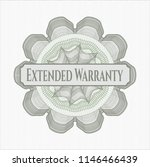 green rosette. linear... | Shutterstock .eps vector #1146466439