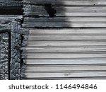 burnt wood grey background.... | Shutterstock . vector #1146494846