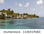 martinique  fwi   sainte anne... | Shutterstock . vector #1146519683