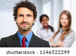 group of business people in the ... | Shutterstock . vector #1146522299