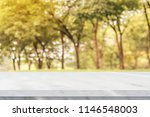 empty white marble table over... | Shutterstock . vector #1146548003