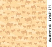 camel pattern | Shutterstock .eps vector #114654874