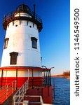 the tarrytown lighthouse  is... | Shutterstock . vector #1146549500