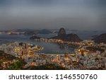 dawn at botafogo bay in rio de...   Shutterstock . vector #1146550760