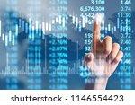 businessman plan graph growth...   Shutterstock . vector #1146554423