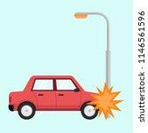 car accident tranportation... | Shutterstock .eps vector #1146561596