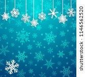 christmas illustration with... | Shutterstock .eps vector #1146562520
