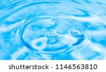 close up of water droplet with... | Shutterstock . vector #1146563810