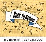 back to school vector... | Shutterstock .eps vector #1146566000