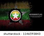 background halftone gradient...   Shutterstock .eps vector #1146593843