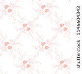 little floral seamless pattern... | Shutterstock .eps vector #1146604343
