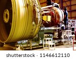 jet engine remove from aircraft ... | Shutterstock . vector #1146612110