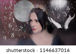 female numerology  magician | Shutterstock . vector #1146637016