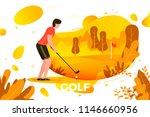 vector illustration   young... | Shutterstock .eps vector #1146660956