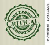 green critical distressed... | Shutterstock .eps vector #1146663206