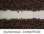 coffee bean background with... | Shutterstock . vector #1146670133